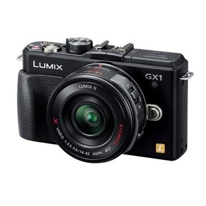 Panasonic ミラーレス一眼カメラ ルミックス GX1...