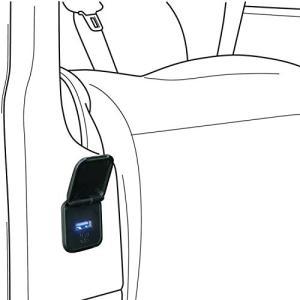 アルパイン(ALPINE) 新車計画 車室内を便利な空間にする アルファード・ヴェルファイア(30系) パワーシート専用 ビルトイン1ポートUSB KCU-Y001AV ks-hobby