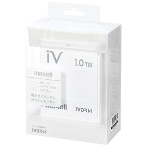 マクセル iVDR-S規格対応リムーバブルハードディスク 1.0TB(ホワイト)maxell カセットハードディスク「iV(アイヴィ)」 M-VDRS1T.E.WH|ks-hobby