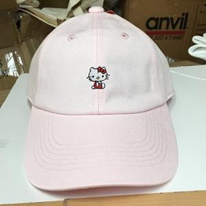 サンリオ 刺繍CAP ハローキティ  ピンク HKAP635|ks-hobby