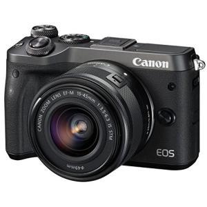 Canon ミラーレス一眼カメラ EOS M6 レンズキット...