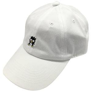 サンリオ 刺繍CAP バットばつ丸 ホワイト SRAP1038|ks-hobby