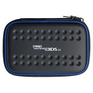 New 3DS LL専用タフポーチ for Newニンテンドー3DS LL ブラック×ブルー|ks-hobby