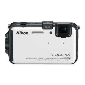 Nikon デジタルカメラ COOLPIX (クールピクス) AW100 ナチュラルホワイト AW1...