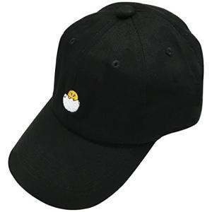 サンリオ 刺繍CAP ぐでたま ブラック SRAP1033|ks-hobby