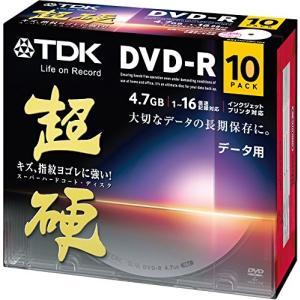 TDK データ用DVD-R 16倍速対応 ホワイトワイドプリンタブル キズや指紋ヨゴレに強いスーパーハードコート・ディスク 「超硬」シリーズ 10枚パック DR47HCPWC10A|ks-hobby