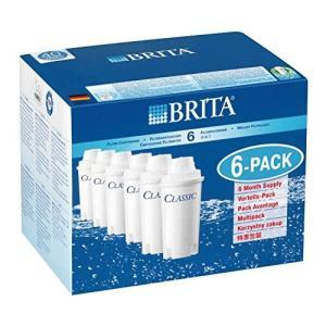 【並行輸入品】 本家本元ドイツのブリタ(BRITA)クラシック(CLASSIC) 【新品大箱6個入り】ブリタクラシック浄水器ポット交換用カートリッジ 6個 日