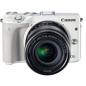 Canon ミラーレス一眼カメラ EOS M3 レンズキット...