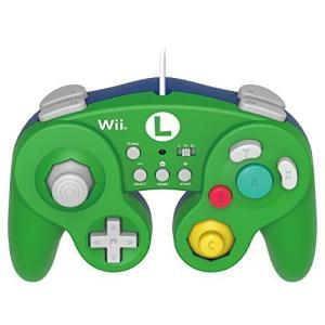 【Wii U/Wii対応】ホリ クラシックコントローラー for Wii U ルイージ 中古 良品|ks-hobby