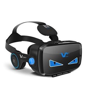 VOX PLUS FE 3DVR ゴーグル 防塵装置 高音質 イヤホン実装 収納ギフトバッグ iPhone Samsung Sony Huaweiなど多機種対応|ks-hobby