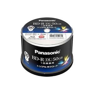 Panasonic 録画用2倍速ブルーレイディスク 50GB(追記型)スピンドル50枚 LM-BRS50P50S|ks-hobby