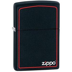 ZIPPO(ジッポー) 218ZB Black Matte/ブラックマット つや消し ZIPPOロゴ FULL SIZE ZIPPO LIGHTER/ジッポライター[並行輸入品]