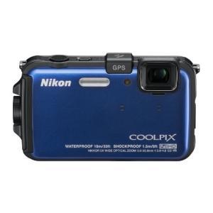 Nikon デジタルカメラ COOLPIX (クールピクス) AW100 オーシャンブルー AW10...