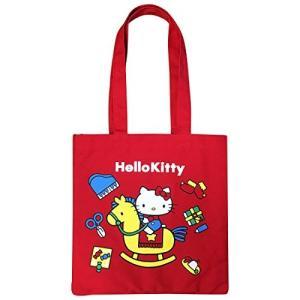 サンリオ カラートートバッグ ハローキティ おもちゃ レッド HKAP683|ks-hobby