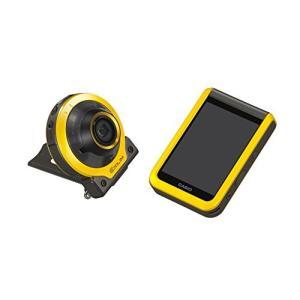 CASIO デジタルカメラ EXILIM EX-FR100YW カメラ部/モニター部分離 フリースタイルカメラ EXFR100 イエロー|ks-hobby