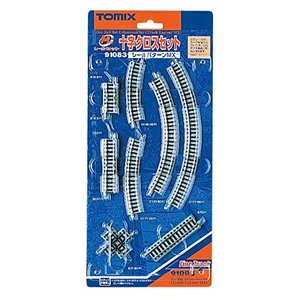TOMIX Nゲージ ミニレールセット 十字クロスセット MXパターン 91083 鉄道模型 レールセット|ks-hobby