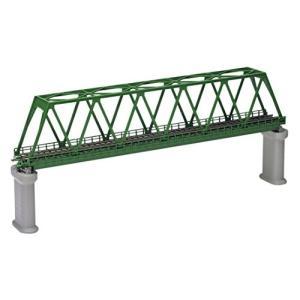 TOMIX Nゲージ 単線トラス鉄橋 F 深緑 PC橋脚 2本付 3033 鉄道模型用品|ks-hobby