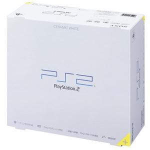 PlayStation 2 セラミック・ホワイト (SCPH-50000CW) 【メーカー生産終了】 中古 良品|ks-hobby