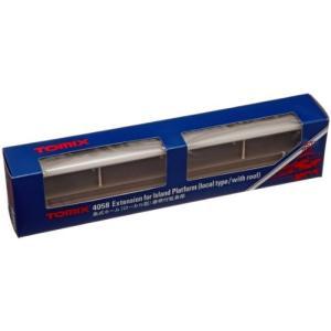 TOMIX Nゲージ 島式ホーム ローカル型 屋根付 延長部 4058 鉄道模型用品|ks-hobby