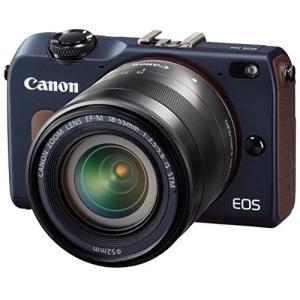 Canon ミラーレス一眼カメラ EOS M2 EF-M18-55 IS STM レンズキット (ベ...