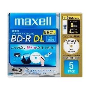 日立マクセル 録画用ブルーレイディスク BD-R DL 260分 (1~4倍速対応) 「ひろびろ超美白レーベル BR50VFWPB.5S|ks-hobby