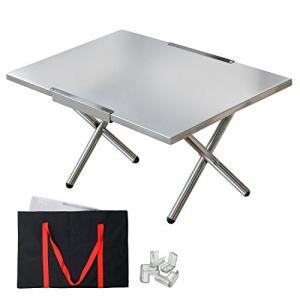 MYCARBON焚き火テーブル キャンプ テーブル 耐熱150℃ 耐荷重50kg|ks-hobby