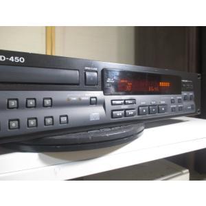 TASCAM CD-450 〓  タスカム(TEAC)の業務用上位クラスのCDプレーヤー, ベルト新...