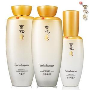 雪花秀 ソルファス 滋陰水 + 滋陰乳液 + 潤燥エッセンス3個セット 韓国コスメ|kscojp