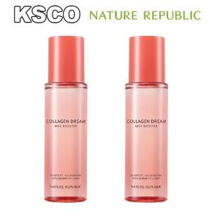 NATURE REPUBLIC ネイチャーリパブリック コラーゲンドリーム90 スキンブースター 化粧水 2個セット 韓国コスメ|kscojp