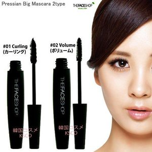 THE FACE SHOP ザ フェイスショップ  プレシアン ビッグ マスカラ 選択2カラー 韓国コスメ kscojp