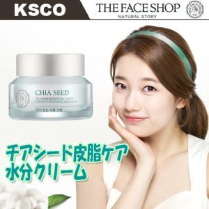 ザフェイスショップ  The face shop チアシード皮脂ケア水分クリーム50ml 韓国コスメ