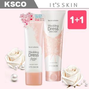 ★お得な選べる1+1セット★(Its skin イッツスキン) Secret Solution Wedding Dress White Cream Facial Cream ホワイト クリーム ボディ 全身用 顔用|kscojp