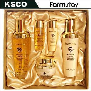 韓国製品 蜂蜜成分とピュアゴールド(99.9%)含有,シワ改善、保湿、美白効果 アロエ成分とプロルポ...