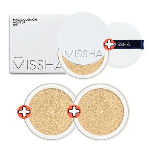 NEW 新商品 MISSHA ミシャ MAGIC CUSHION マジック クッション選択4タイプ ミシャ クッション ミシャ ファンデーション ミシャ パウダー モイストアップ