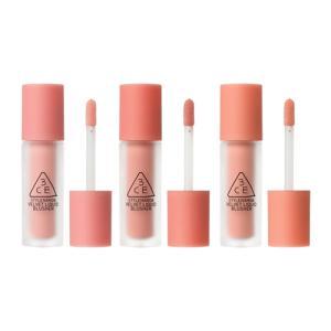 新商品 スタイルナンダ 3CE マルチアイカラーパレット 8.5g ベルベットリキッドチーク 3色 各3.4g ダブルメッシュポーチ 落着いたカラー感 韓国コスメ|kscojp