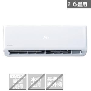 アイリスオーヤマ エアコン 2.2kw airwill(エアウィル) IKF-221G ホワイト 主に6畳用【標準取付工事代込み】|ケーズデンキ エアコンストア