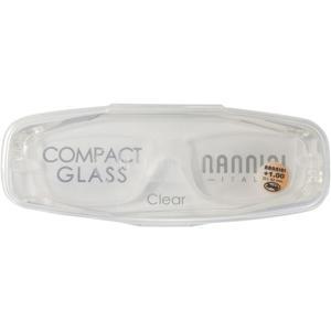 ナンニーニ コンパクトグラス2 1.0 NCG2-1.0-クリア クリア|ksdenki