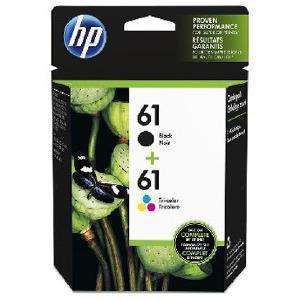 日本HP HP61 黒 カラーパック CR311AA(HP61クロカラーパック)|ksdenki