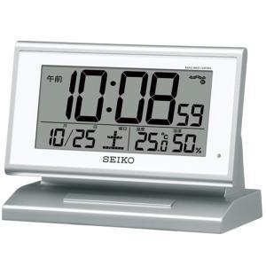 セイコークロック 電波デジタル置時計 SQ768S|ksdenki