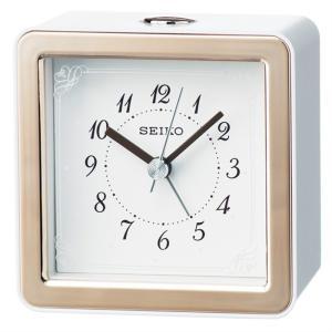 セイコークロック アナログ置き時計 KR898P 薄ピンク|ksdenki