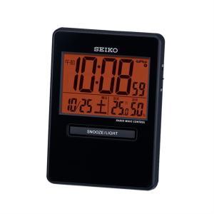 セイコークロック 電波デジタル置き時計 SQ781K|ksdenki
