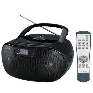 WINTECH リモコン付SD/USB対応CDラジオ KC-151USB|ksdenki