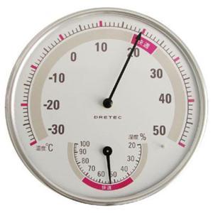 ドリテック 温湿度計WT O-310WT ホワイト|ksdenki