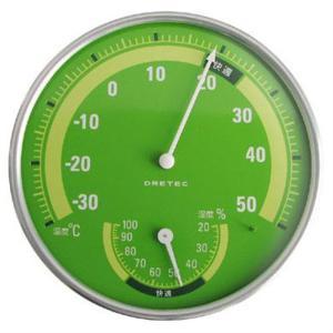 ドリテック 温湿度計GN O-310GN グリーン|ksdenki