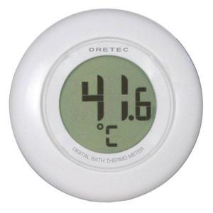 ドリテック 湯温計WT O-227WT ホワイト