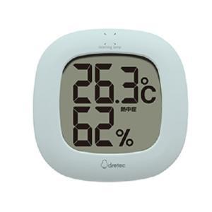 ドリテック デジタル温湿度計 O-295 BL ブルー ksdenki