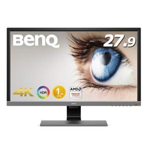 BENQ 27インチ液晶ディスプレイ EL2870U メタリックグレー