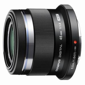 オリンパス 交換用レンズ マイクロフォーサーズ M.ZUIKO DIGITAL 45mm F1.8 ...