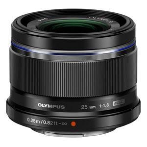 オリンパス 交換用レンズ マイクロフォーサーズ M.ZUIKO DIGITAL 25mm F1.8 ブラック|ksdenki