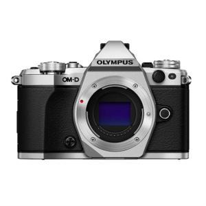 オリンパス 小型一眼カメラ ボディ E-M5 Mark2 ボディー(シルバー) シルバー...